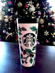 Starbucks January 2017 Tumbler